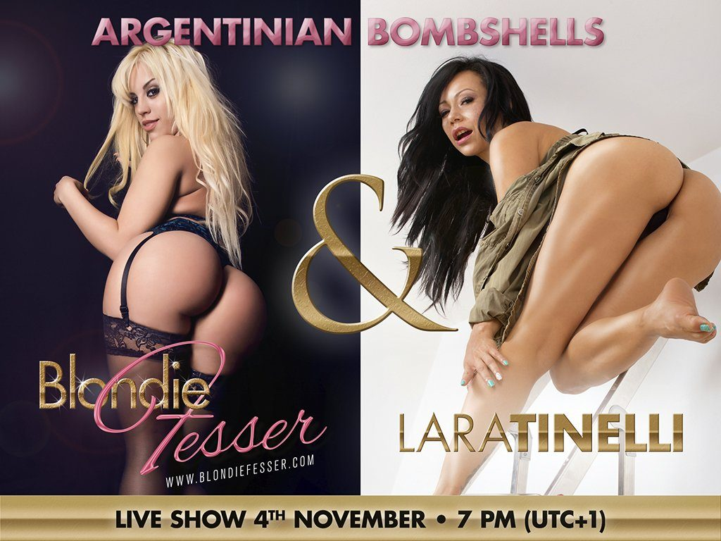 G/G Camsoda webcam show with Blondie Fesser and Lara Tinelli