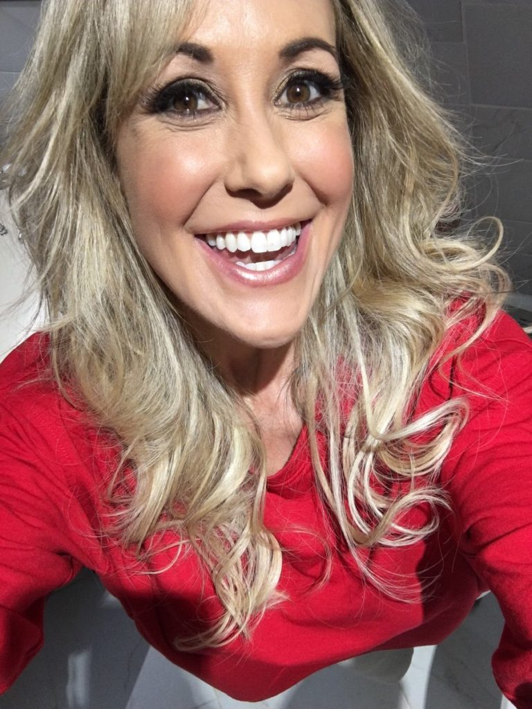 Camsoda camgirl Brandi Love smiling in selfie