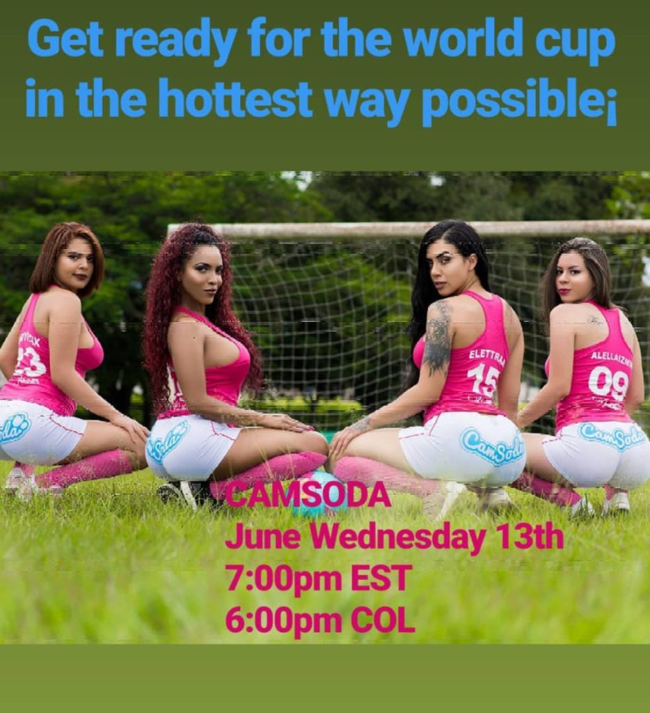 Camsoda World Cup football