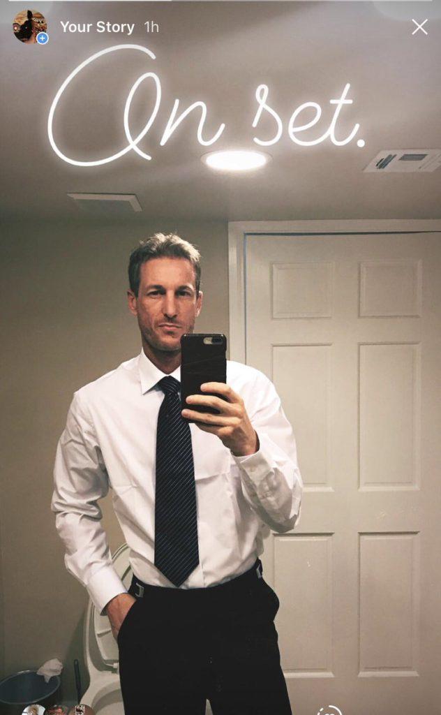 Ryan Mclane selfie