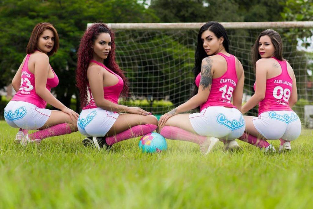 Camsoda Pink soccer team