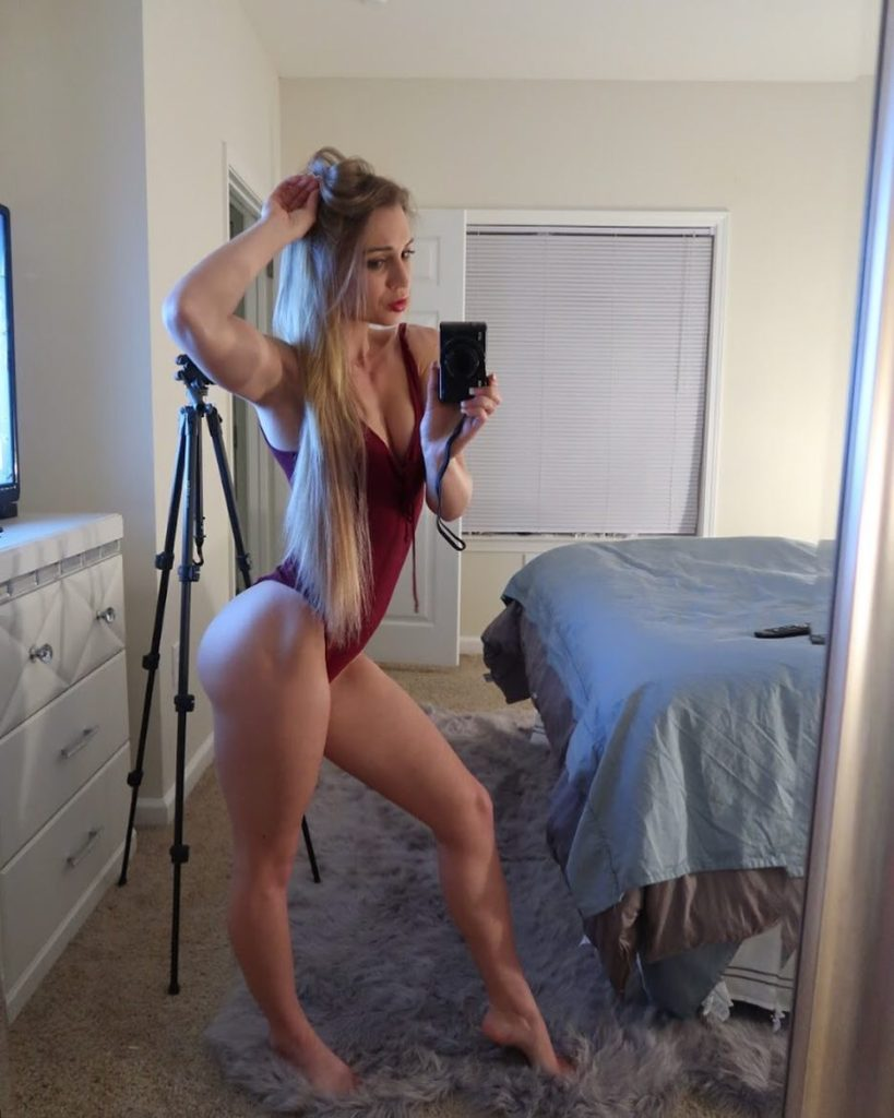 sexy selfie by Zoey Taylor