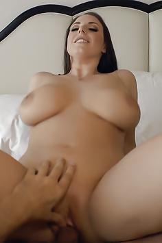 Angela White sex with Steve Holmes