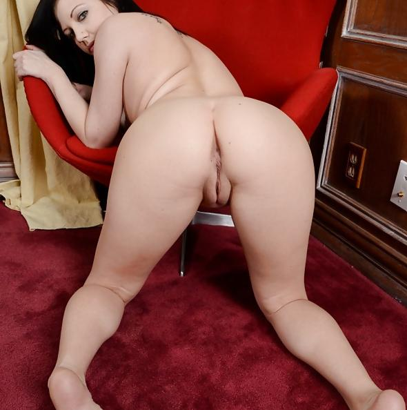 Brandi Belle plays with shaved pussy at ATK Petites